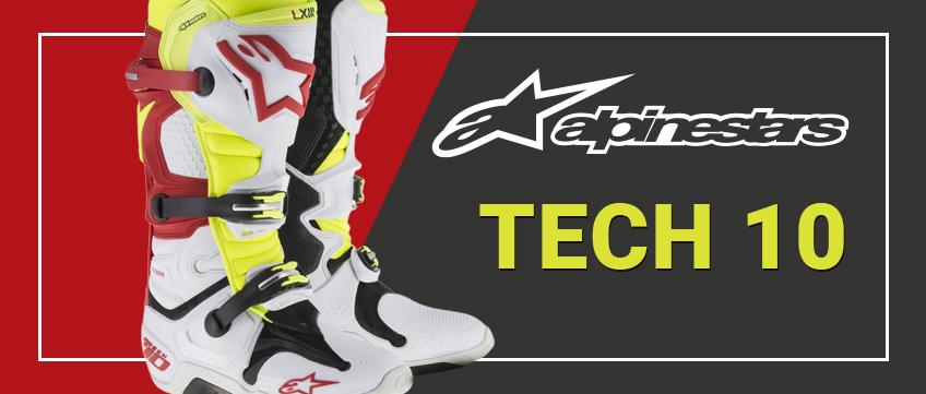 Alpinestars Tech 10 crosstövlar