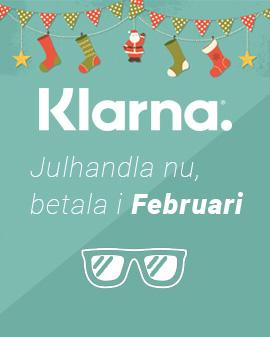 Julkampanj Klarna, kör nu betala i Februari
